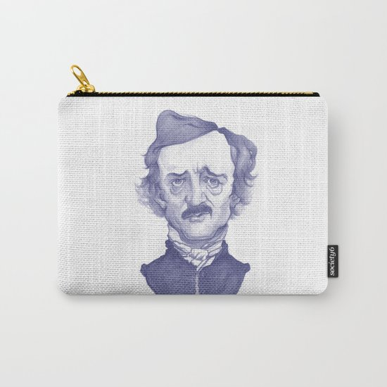 Edgar Allan Poe illustration Carry-All Pouch