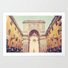 Arco da Rua Augusta, Lisbon Fine Art Print Art Print