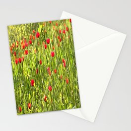 Flanders Poppies Stationery Cards
