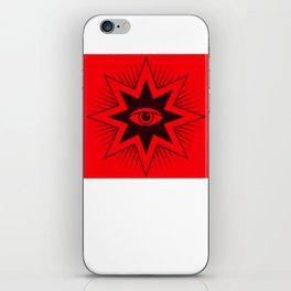 All Seing Eye Symbol iPhone Skin