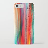ice iPhone & iPod Cases featuring Ice Curtain by Klara Acel