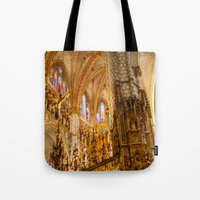 ornate Tote Bags featuring Ornate by John Hinrichs