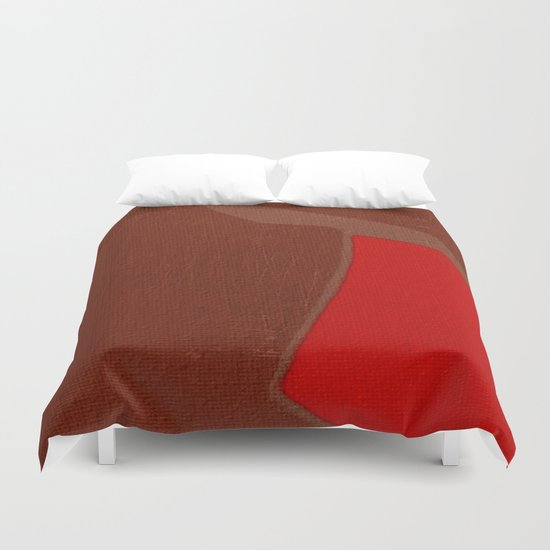 The Crimson Gnu  Duvet Cover