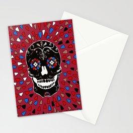 SKULL NO CRY. Stationery Cards
