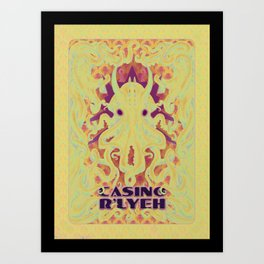 Casino R'Lyeh Art Print
