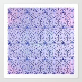 Winter Lace Art Print