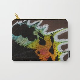 Wing of a Madagascan Sunset Moth, Shimmering with the Vivid Imagination of Nature Carry-All Pouch