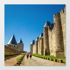 Carcassonne Canvas Print