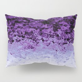 Purple Crystal Ombre Pillow Sham