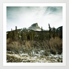 Pocahontas mountain Art Print