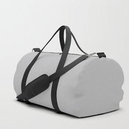 Quiet Gray | Pantone Fashion Color | Fall : Winter 2018 | Solid Color Duffle Bag