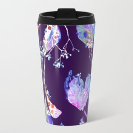 luminous branch on violet Travel Mug