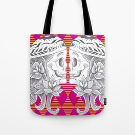Mexican Skull by Camel Tote Bag