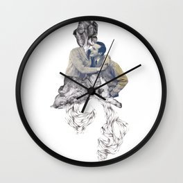 Leaks Wall Clock