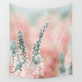 Pretty in Pink - Flowers Wall Tapestry