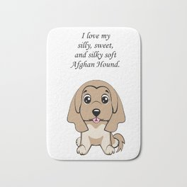 Love my Afghan Hound Bath Mat