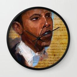 Da Prez Wall Clock