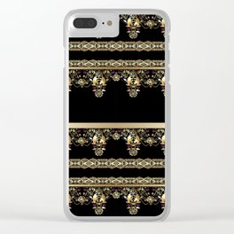 Gold East. Clear iPhone Case