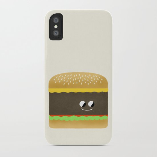 Cheesy Burger iPhone Case