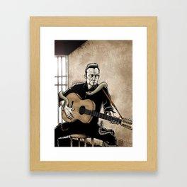 Folsom Prison Blues Framed Art Print