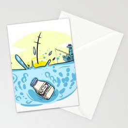 Sink of the Mayo Stationery Cards