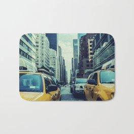 New York Yellow Cabs Bath Mat