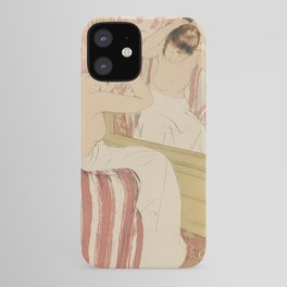 The Coiffure  by Mary Cassatt (1844-1926) iPhone Case