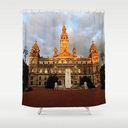 Glasgow City Chambers 2 Shower Curtain