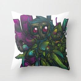 Aberration Throw Pillow
