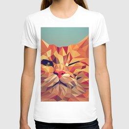 Geometric cat 2 T-shirt