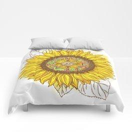 Sunflower Compass Comforters