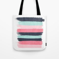 Cecily - abstract paint brush strokes paintbrush brushstrokes boho chic trendy modern minimal  Tote Bag