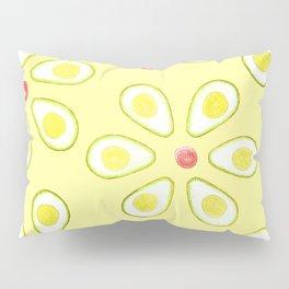 Avocado Sunny Party Pattern Pillow Sham
