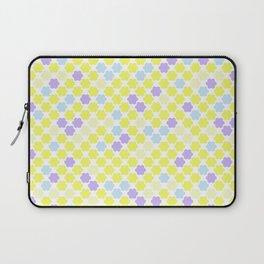 Fun summer Yellow pattern . Laptop Sleeve