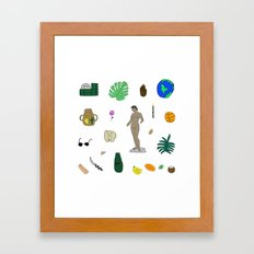 Various Stages  Framed Art Print