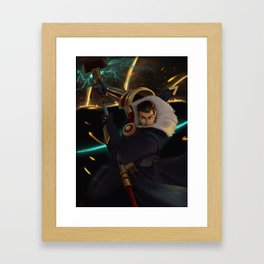 Jayce League of Legends Framed Art Print