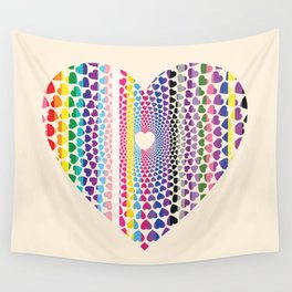 LGBTQ2 Love Wall Tapestry