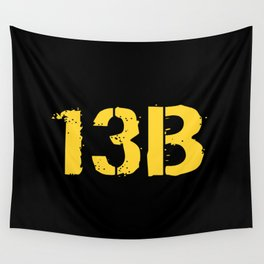 13B Cannon Crewmember Wall Tapestry