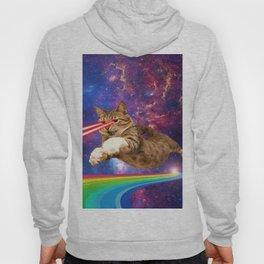 Space Cat Laser Hoody