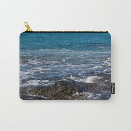 rock in the waves Carry-All Pouch