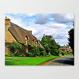 Picturesque Chipping Campden Canvas Print