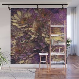 Sun Kissed Flowers Wall Mural