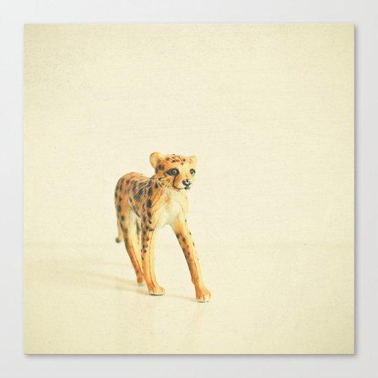 Catwalk Cheetah Canvas Print