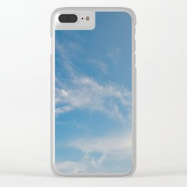 Hummingbird Cloud by Teresa Thompson Clear iPhone Case