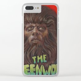 The Teen Wolf Clear iPhone Case