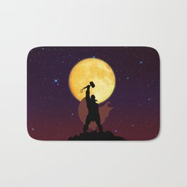God Of Thunder Bath Mat