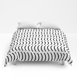 Smiley Small B&W Comforters