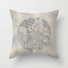 YOU ARE MY WORLD Throw Pillow