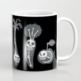 X-rays vegetables (black background) Coffee Mug
