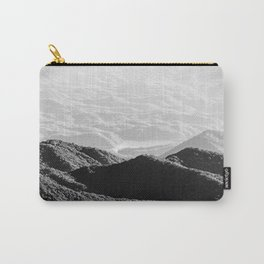 Smoky Mountain Black and White Forest Sunset - 125/365 Carry-All Pouch